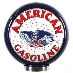 Gaspump globe American Gasoline
