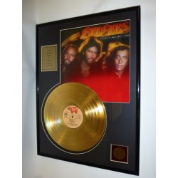 """Gold plated record - Bee Gees  """"Spirits Having Flown"""""""