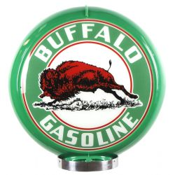 Gaspump globe Buffalo Gasoline