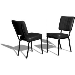 Retro Chair CO-25 Full Black