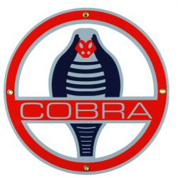 Enamel sign Cobra