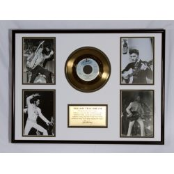 """Gold plated record - Elvis Presley """"Follow That Dream"""""""