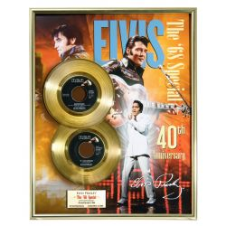 """Gold plated record - Elvis Presley """"The 68 Special"""""""