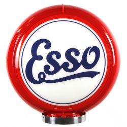 Gaspump globe Esso