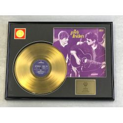 """Gold plated record - THE EVERLY BROTHERS """"EB 84"""""""
