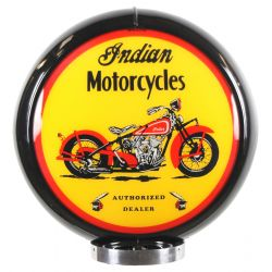 Gaspump globe Indian Motorcycles Black