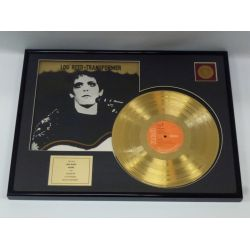 """Gold plated record - Lou Reed  """"Transformer"""""""