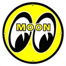 Enamel sign Moon