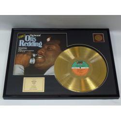 """Gold plated record  - Otis Redding """"The Best Of Otis Redding"""""""