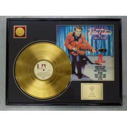 "Gold plated record - EDDIE COCHRAN ""20 GOLDEN TRACKS"""
