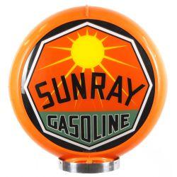 Gaspump globe Sunray Gasoline