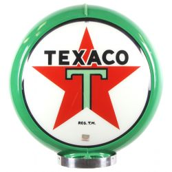 Gaspump globe Texaco Green