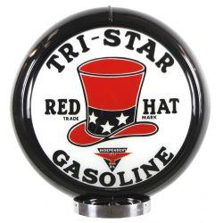 Gaspump globe Tri-Star Gasoline