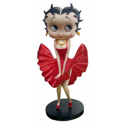 Betty Boop Cool Breeze Red Dress