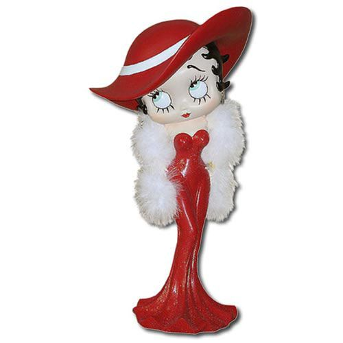Betty Boop Madam Red Dress Small