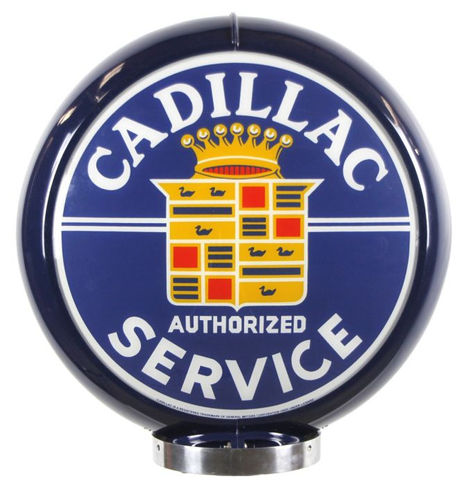 Gaspump globe Cadillac Authorized Service