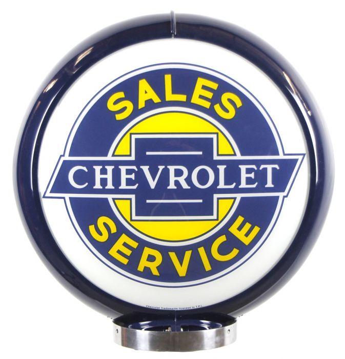 Gaspump globe Chevrolet Sales Service