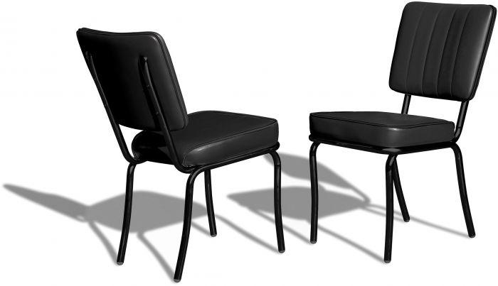 Retro Chair CO-25 Full Black