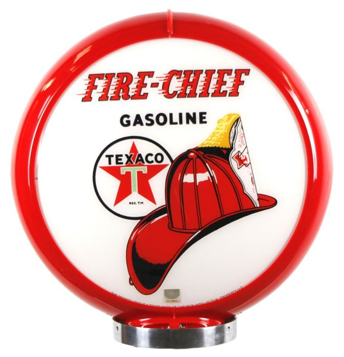 Gaspump globe Fire Chief