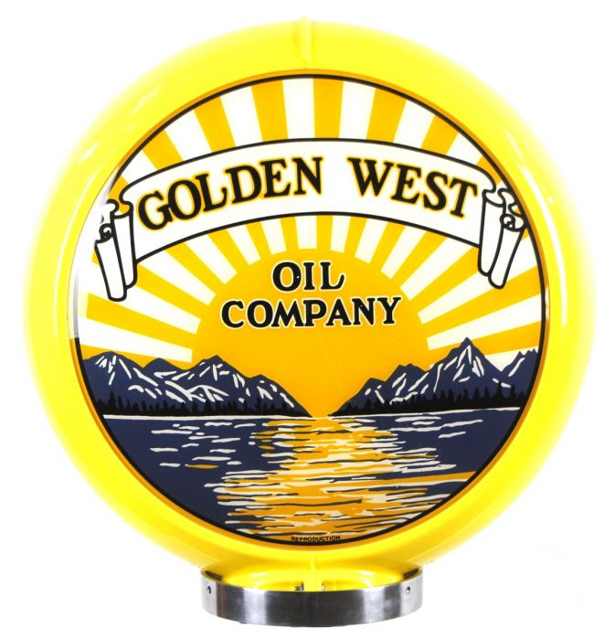 Gaspump globe Golden West