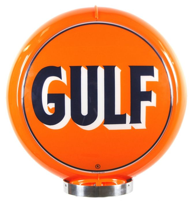 Gaspump globe Early Gulf Logo