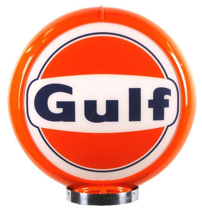 Gaspump globe Gulf Logo