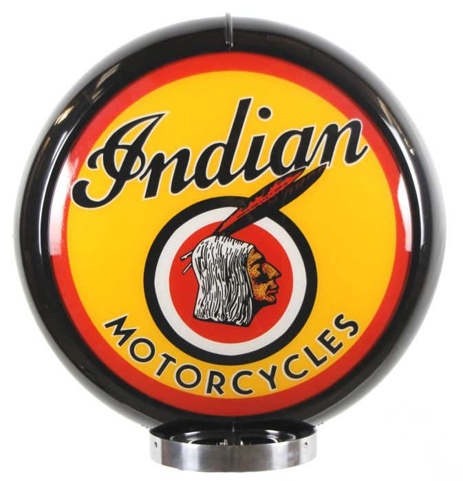 Gaspump Globe Indian Motorcycles