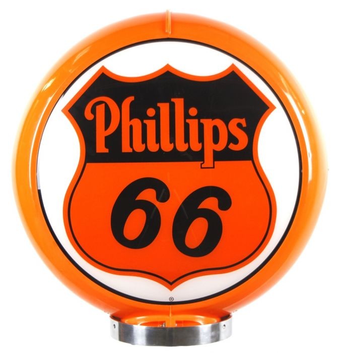 Gaspump globe Phillips 66