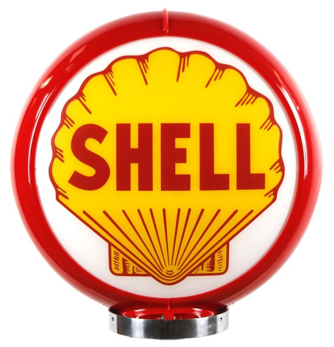 Gaspump globe Shell