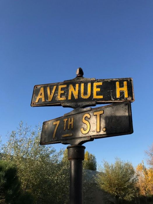 Original American Street sign