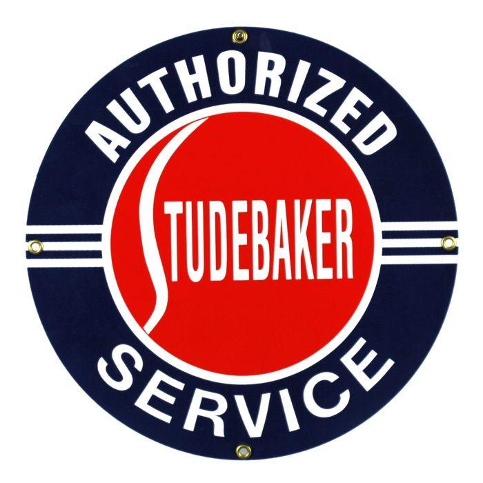 Enamel sign Studebaker