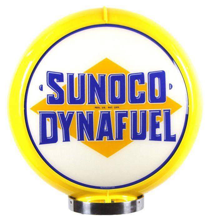 Gaspump globe Sunoco Dynafuel