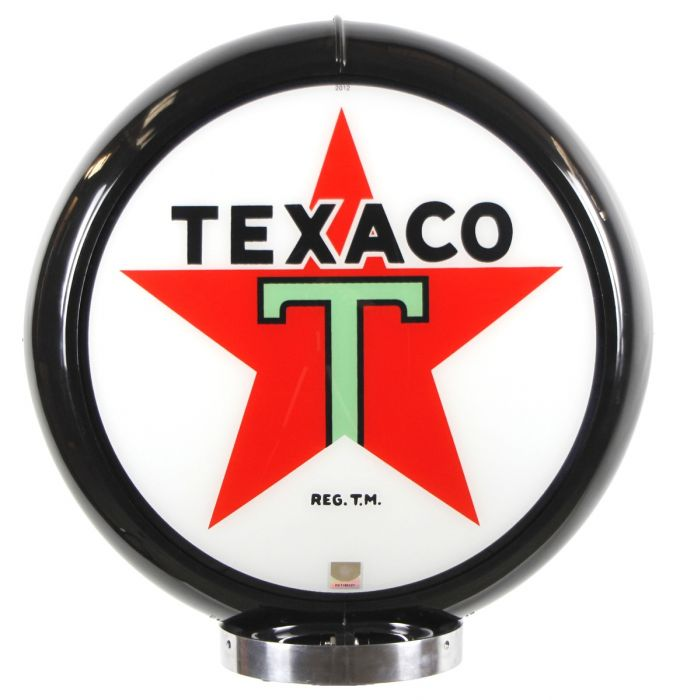 Gaspump globe Texaco